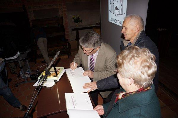 2 - Heiligengrabe-Buch Präsentation Dezember 2014 - Kloster Stift