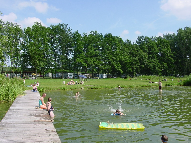 Badestelle und Campingplatz Königsberger See